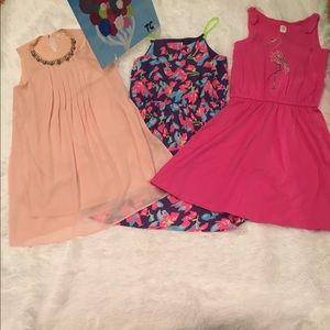 -NWT(3) piece BUNDLE PRETTY in PINK dresses .‼️‼️